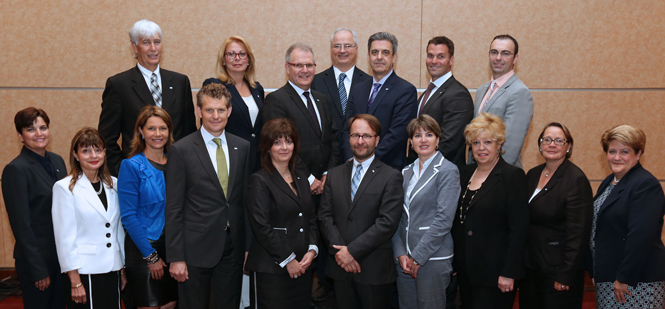 Conseil d'administration 2014-2015